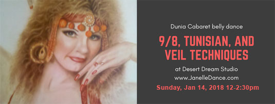Dunia belly dance workshop Santa Cruz